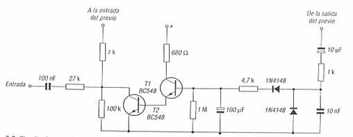 Control automático del nivel de grabación transistorizado
